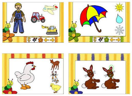 bibernetz.de - Klac-ks - das Kindergartenspiel
